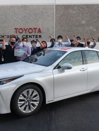 2021 Toyota Mirai Guiness Record-124