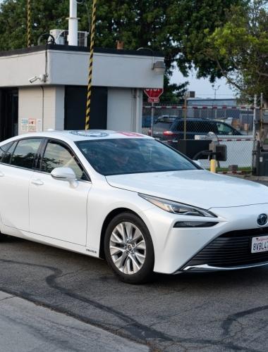 2021 Toyota Mirai Guiness Record-4
