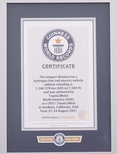 Sept2021-ToyotaGuinnessCertificate